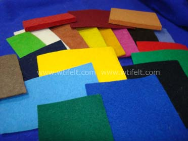 Colored Felt Fabric